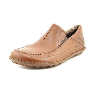Patagonia Pau Men Round Toe Leather Brown Loafer