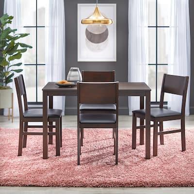 Simple Living Templeton 5-piece Wood Dining Set