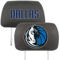 """NBA - Dallas Mavericks Head Rest Cover 10""""x13"""""""