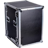 YCS TBH16UAD21W DeeJay LED 16 RU Shock Mount Amplifier Deluxe Case