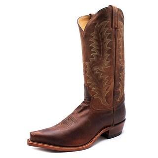 Tony Lama Saigets Pointed Toe Leather Western Boot