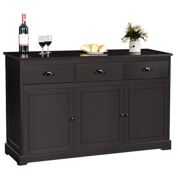 Sideboard Buffet Server Storage Cabinet Console Table. Opens flyout.