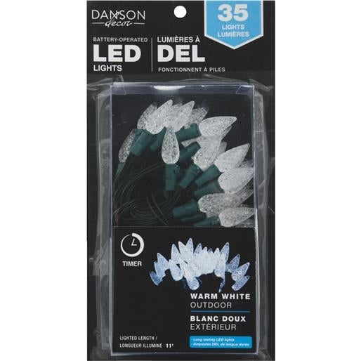 Danson Decor 35Lt Pw B/O C6 Led X78003 Unit: EACH