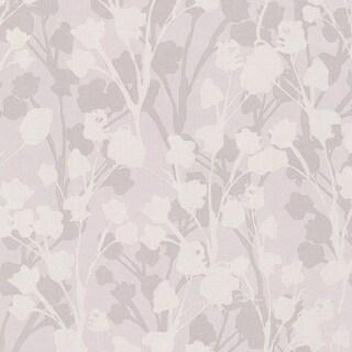 Brewster 347-20125 Lawson Purple Botanical Silhouette Wallpaper