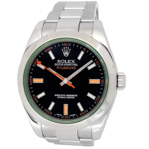 Pre-owned 40mm Rolex Milgauss