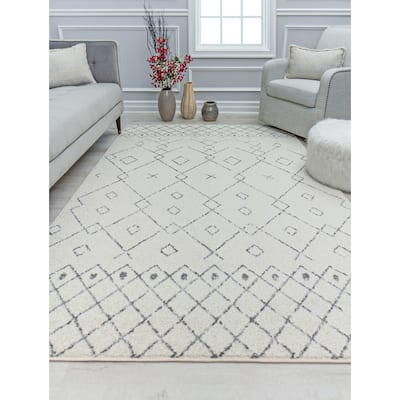Marlow Moroccan Boho Chic Area Rug by Rugs America