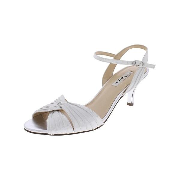 Nina Womens Camille Dress Sandals Open Toe Slingback
