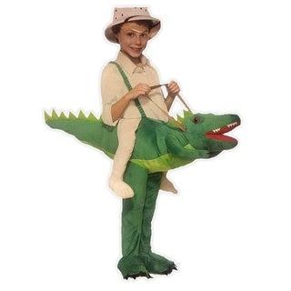 Alligator Deluxe Child Ride-on Costume - Green