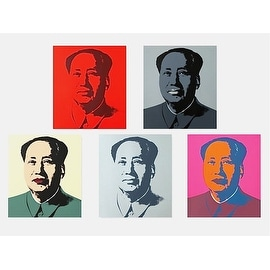 Mao Zedong Suite by Andy Warhol Art Prints