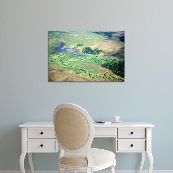 Easy Art Prints Gavriel Jecan's 'Tundra Landscape Ii' Premium Canvas Art