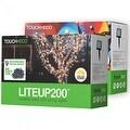 Liteup200 Solar LED String Lights White or Multi-Color - Thumbnail 0