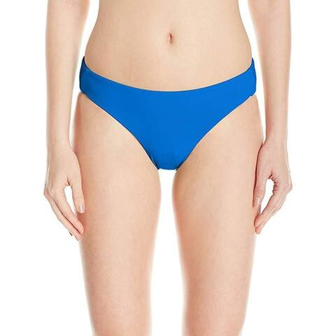 Billabong Women's Sol Searcher Capri Bikini Bottom, Sapphire Blue,SZ Small