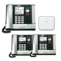Vtech ErisBusinessSystem UP416 Telephone Console with UP406(2-Pack) Desksets
