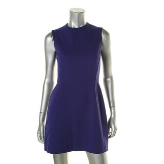 French Connection Womens Woven Sheath Cocktail Dress - 4