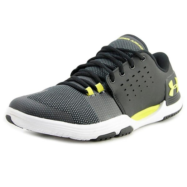 Under Armour Limitless TR 3.0 Men Round Toe Synthetic Black Running Shoe