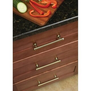 Atlas Homewares 327 Browning 6-1/4 Inch Center to Center Bar Cabinet Pull