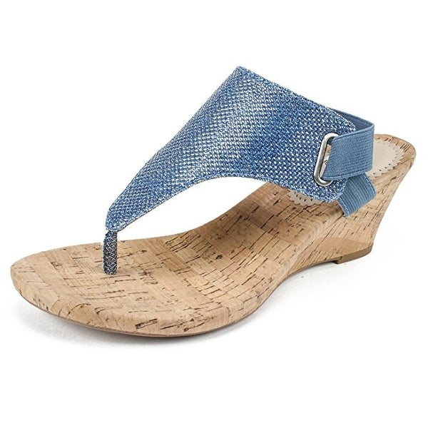 White Mountain Womens All Good, Sapphire/Glitter