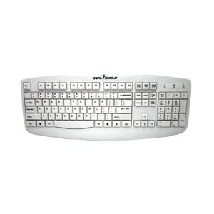 Seal Shield STWK503 Seal Shield Silver Storm STWK503 Keyboard - USB - White