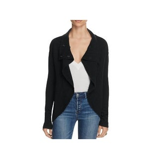 Free People Womens Cardigan Sweater Wool Blend Long Sleeves
