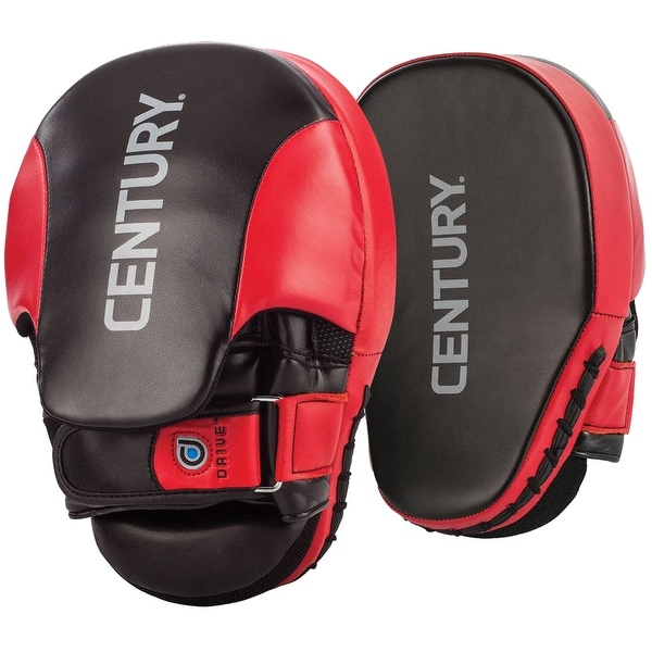 Red//Black Century Drive Martial Arts Training Double Clapper Target