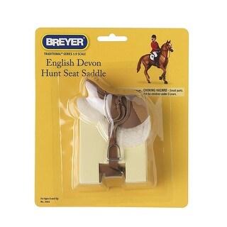 Breyer 1:9 Traditional Series Model Horse Accessory: Devon Hunt Seat Saddle - multi