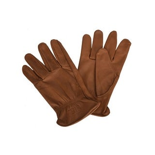 StS Ranchwear Western Gloves Mens Waterproof Lined Brown STS7282