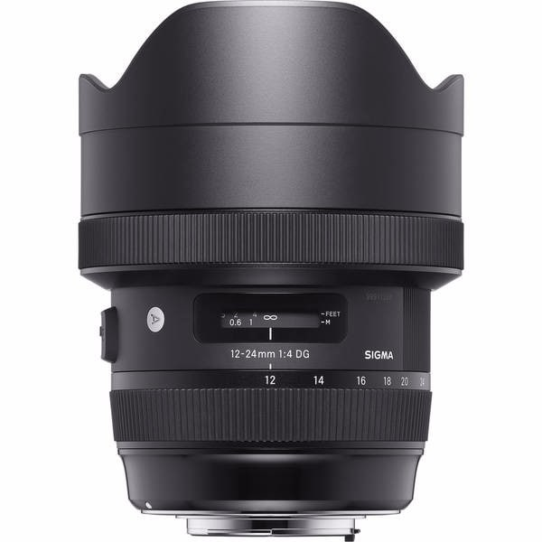 Sigma 12-24mm f/4 DG HSM Art Lens for Canon EF - Black