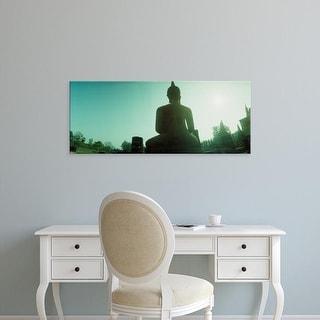 Easy Art Prints Panoramic Images's 'A statue of Buddha, Sukhothai Historical Park, Sukhothai, Thailand' Canvas Art