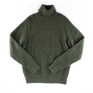 Tommy Hilfiger NEW Green Mens Size Medium M Turtleneck Wool Sweater