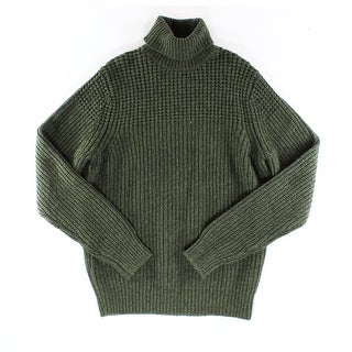 Tommy Hilfiger NEW Green Mens Size Small S Turtleneck Knit Sweater