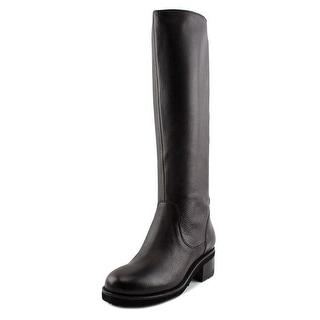 Bruno Premi F1603   Round Toe Leather  Knee High Boot