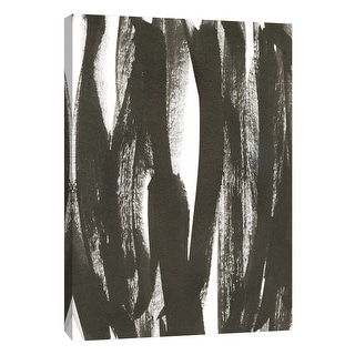"PTM Images 9-108589  PTM Canvas Collection 10"" x 8"" - ""Composition in Black and White 12"" Giclee Abstract Art Print on Canvas"