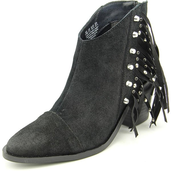 Fergie Bennie Pointed Toe Suede Ankle Boot