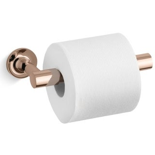 Kohler K-14377 Purist Double Post Pivoting Toilet Paper Holder