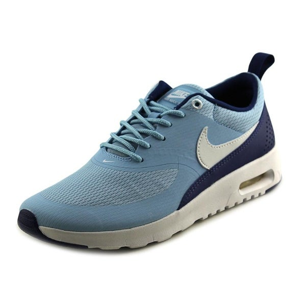 Nike Air Max Thea Youth Round Toe Synthetic Blue Tennis Shoe