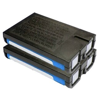 Replacement 700mAH P107 Battery For Panasonic KX-3032 / KX-TG3024S Phone Models (2 Pack)