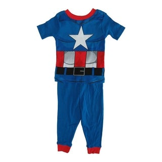 "The Avengers Captain America /""A/"" Two Piece Pajama Set"