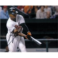 Signed Mora Melvin Baltimore Orioles 8x10 autographed