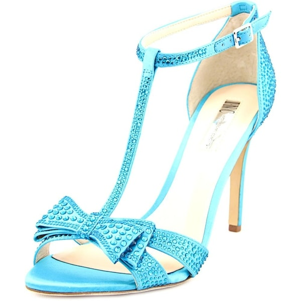 INC International Concepts Reesie 2 Women Open Toe Synthetic Blue Sandals