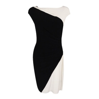 Ralph Lauren Women's Boat Neckline Jersey Dress - 8