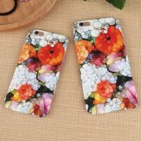 Retro Vintage Bling Flower Print Iphone 6 6s Plus & 77 Plus Cover Case