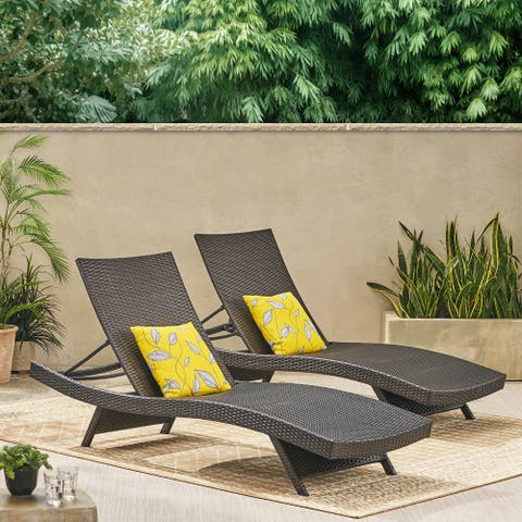 Vilano Outdoor Lounge Chairs (Set of 2) by Havenside Home