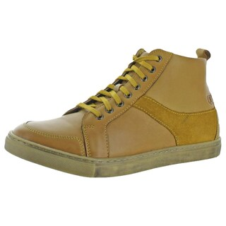 Stacy Adams Mens Winchell Chukka Boots Leather Lace Up (Option: Gold - 7.5 medium (d))