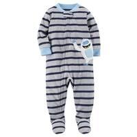 724fbc510b58 Shop Carter s Baby Boys  1 Piece Fleece Christmas Pajamas - 12 ...
