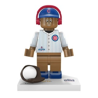 Chicago Cubs 2016 World Series Champions Clark The Mascot Minifigure - Multi