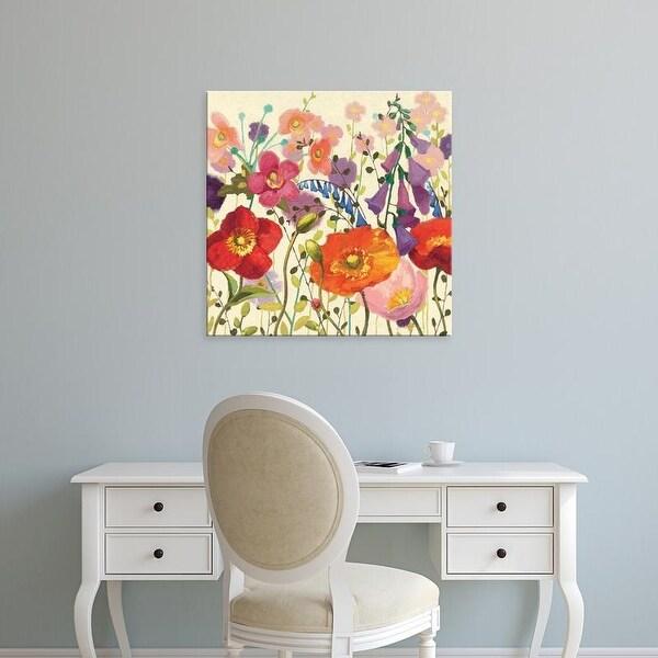 Easy Art Prints Shirley Novak's 'Couleur Printemps III' Premium Canvas Art