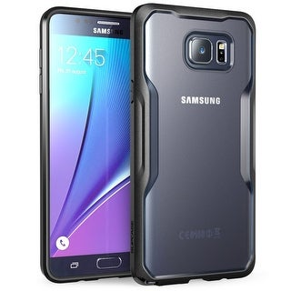 Galaxy Note 5 Case, Supcase, Unicorn Beetle Series Premium Hybrid Protective Case-Frost/Black