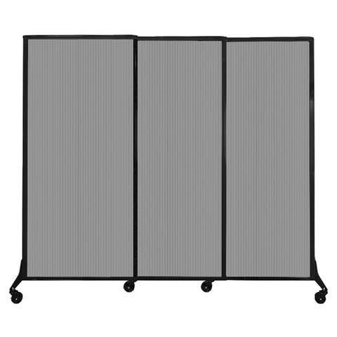 QuickWall Sliding Portable Partition - Polycarbonate