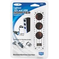 Custom Accessories 12V Tpl Adapter W/Usb
