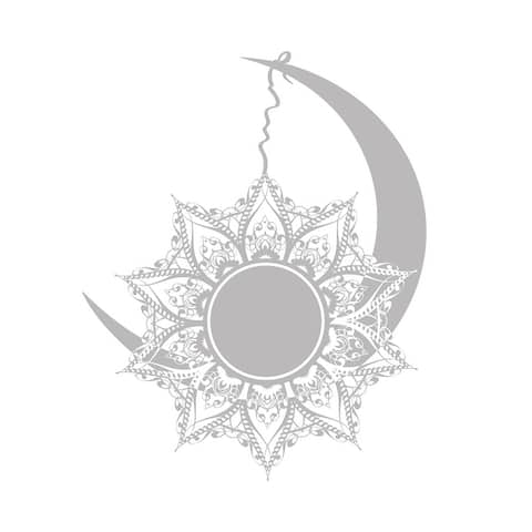 Moon and Sun Wall Decals Mandala